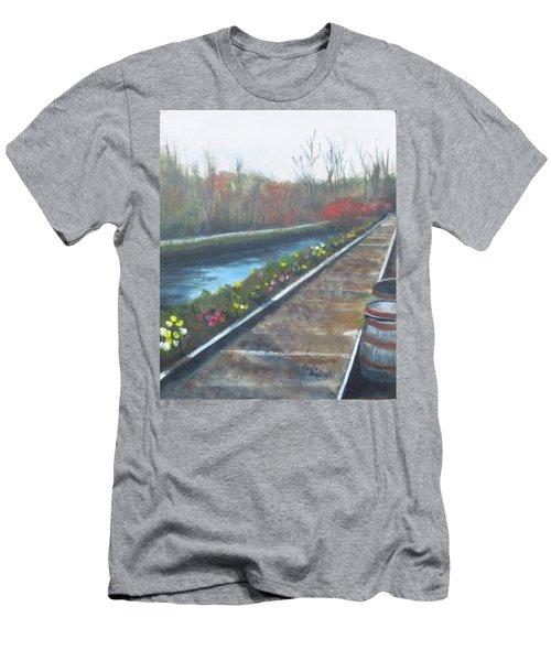 Lambertville Rr #2 Men's T-Shirt (Athletic Fit)