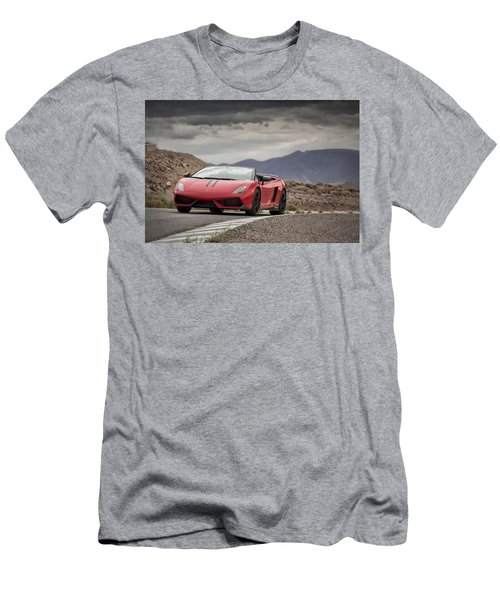 Lamborghini Gallardo Lp570-4 Spyder Performante Men's T-Shirt (Athletic Fit)