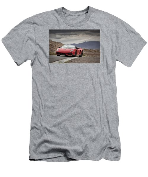 Lamborghini Gallardo Lp570-4 Spyder Performante Men's T-Shirt (Athletic Fit)
