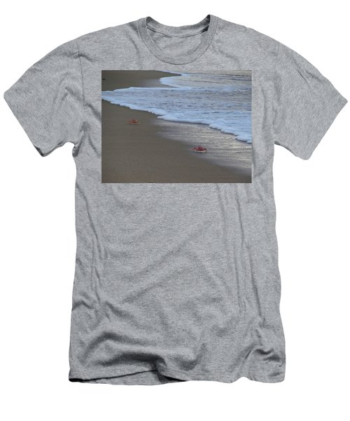 Lamu Island - Crabs Playing At Sunset 4 Men's T-Shirt (Athletic Fit)