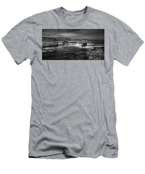Land And Sea Men's T-Shirt (Slim Fit) by Mark Lucey