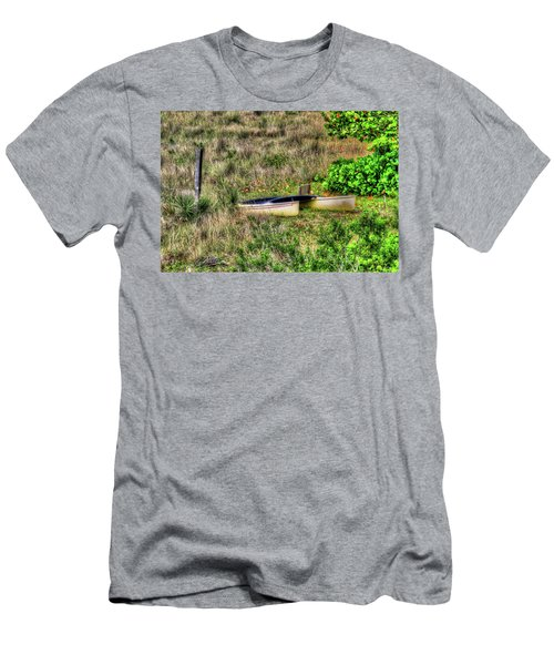 Men's T-Shirt (Slim Fit) featuring the photograph Land Locked by Tom Prendergast