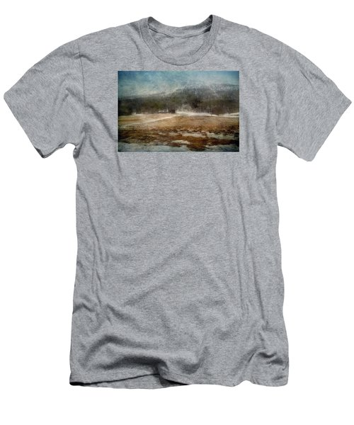 Landscape From Norway Men's T-Shirt (Slim Fit) by Vittorio Chiampan
