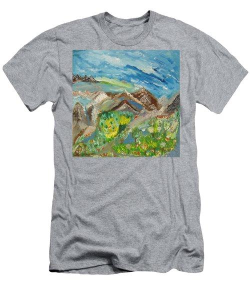 Landscape. Imagination 24. Men's T-Shirt (Athletic Fit)