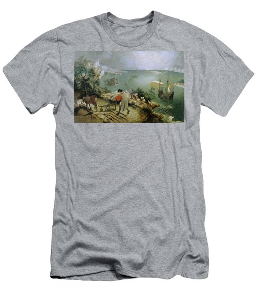 Landscape With The Fall Of Icarus Men's T-Shirt (Athletic Fit)