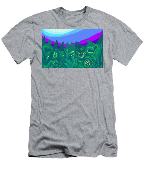 Language Of Forest Men's T-Shirt (Athletic Fit)