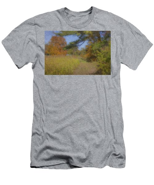 Langwater Farm Tractor Path Men's T-Shirt (Athletic Fit)