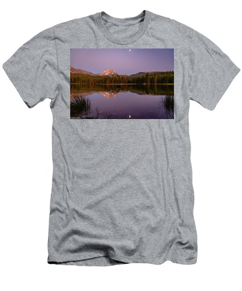 Lassen Peak Men's T-Shirt (Athletic Fit)
