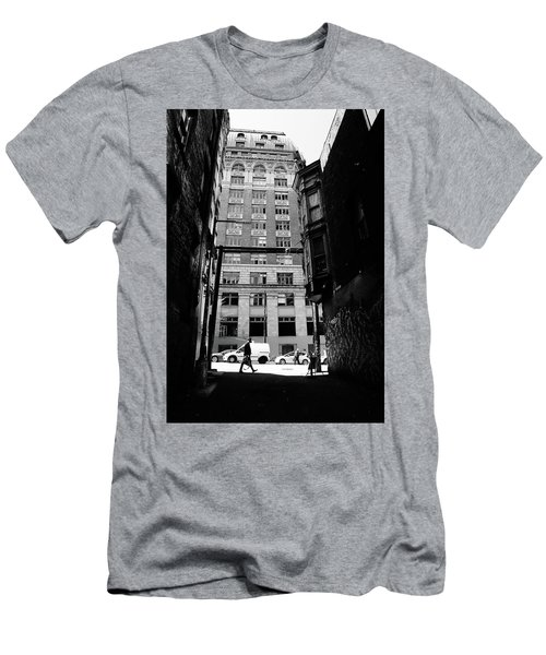 Men's T-Shirt (Slim Fit) featuring the photograph Last Jacket  by Empty Wall