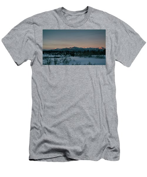 Last Light On Pagosa Peak Men's T-Shirt (Athletic Fit)