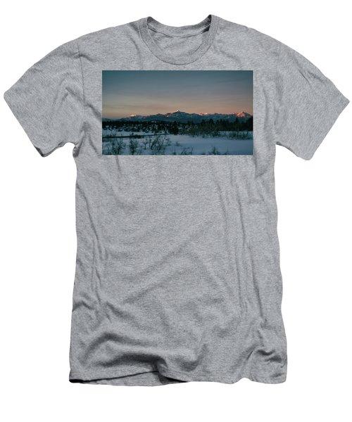 Last Light On Pagosa Peak Men's T-Shirt (Athletic Fit)