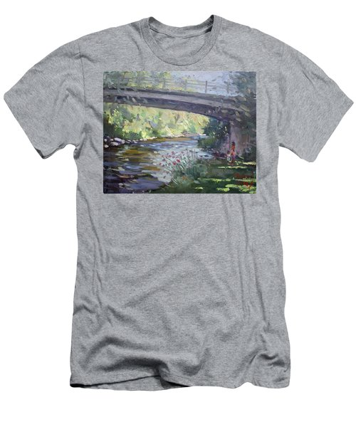 Late Afternoon At Mcnab Park Men's T-Shirt (Athletic Fit)