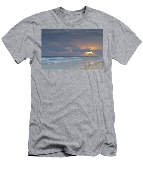 Late Afternoon In Ilha Deserta. Algarve Men's T-Shirt (Athletic Fit)
