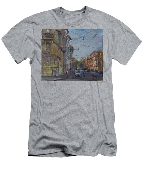 Late Afternoon Light - Regina Margherita -rome Men's T-Shirt (Athletic Fit)