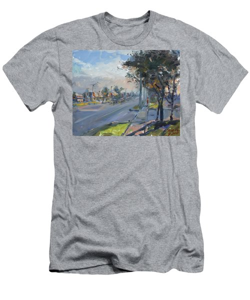 Late Evening In Guelph Street Georgetown Men's T-Shirt (Athletic Fit)