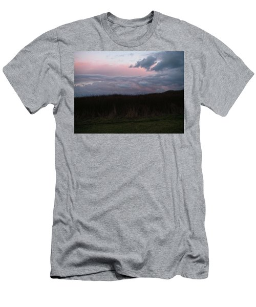 Men's T-Shirt (Slim Fit) featuring the photograph Late Light by Laurie Stewart