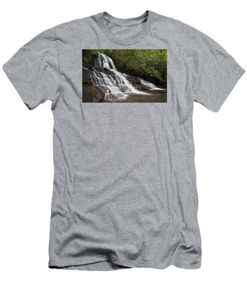 Men's T-Shirt (Athletic Fit) featuring the photograph Laurel Falls by Ken Barrett