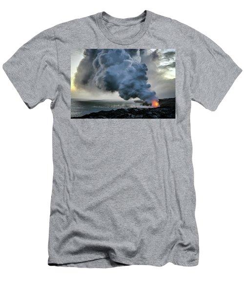 Lava Ocean Entry Men's T-Shirt (Athletic Fit)
