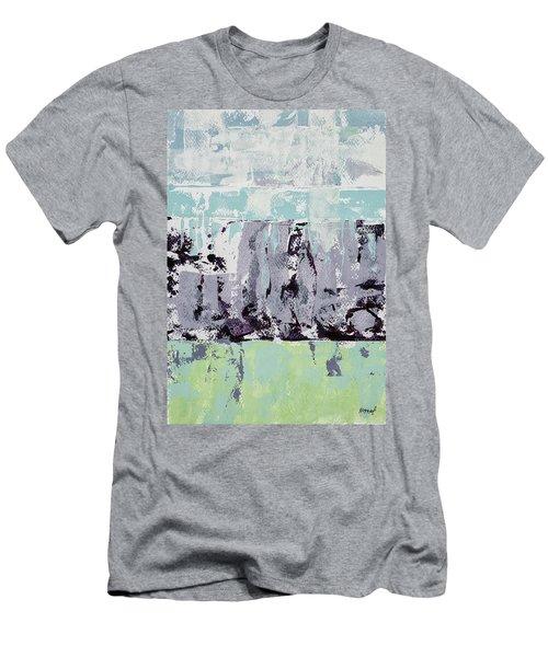 Lavender Landscape Men's T-Shirt (Athletic Fit)