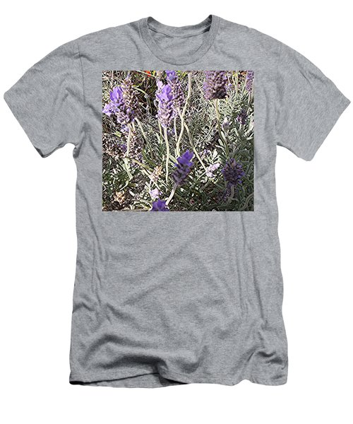 Lavender Moment Men's T-Shirt (Slim Fit) by Winsome Gunning
