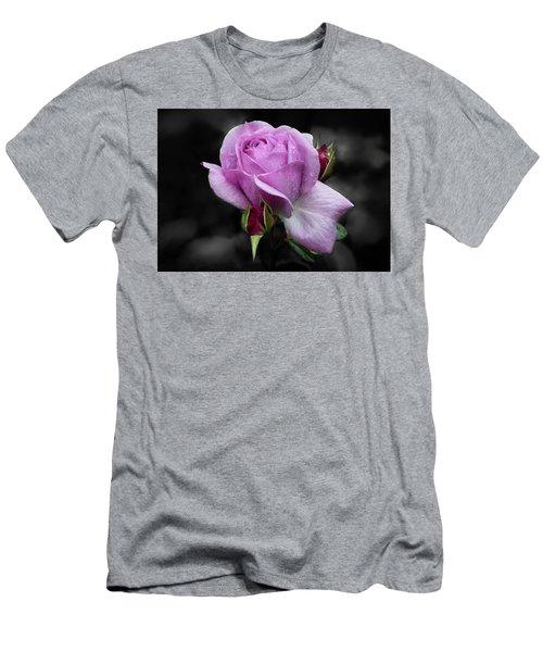 Lavender Rose Men's T-Shirt (Athletic Fit)
