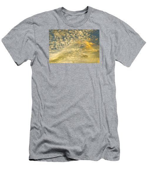Men's T-Shirt (Slim Fit) featuring the photograph Layers Of Sky by Wanda Krack