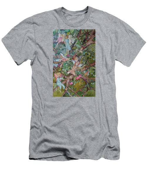 Lazy Days Men's T-Shirt (Slim Fit) by Claudia Cole Meek