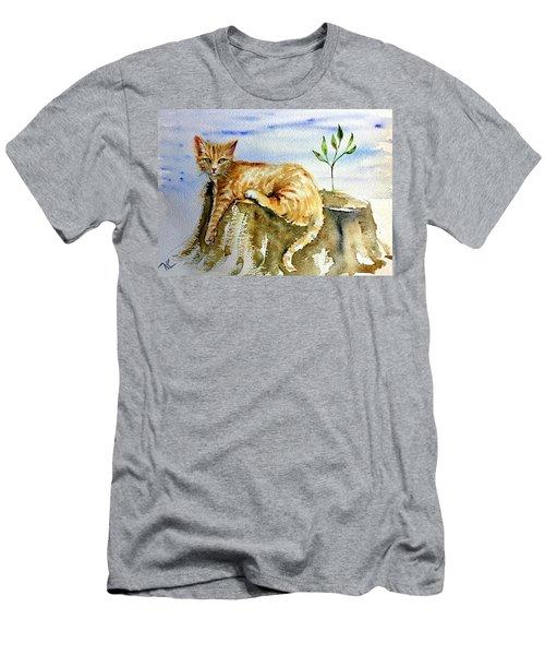 Lazy Evening Men's T-Shirt (Athletic Fit)