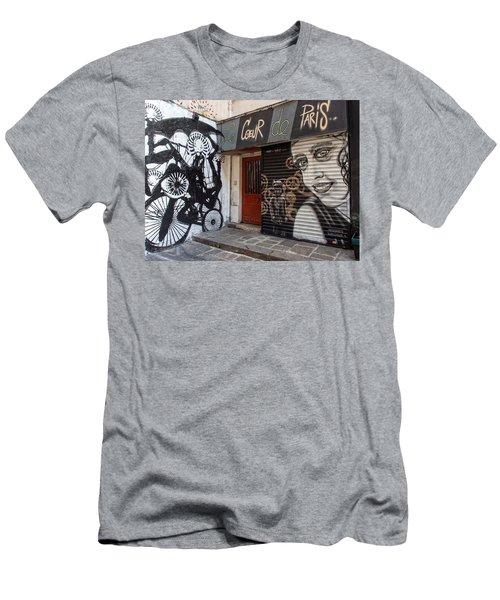 Le Coeur De Paris Men's T-Shirt (Athletic Fit)