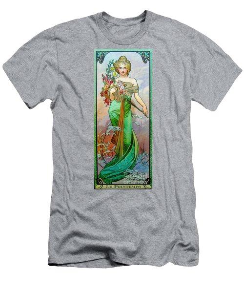 Le Printemps C1895 Men's T-Shirt (Slim Fit) by Padre Art