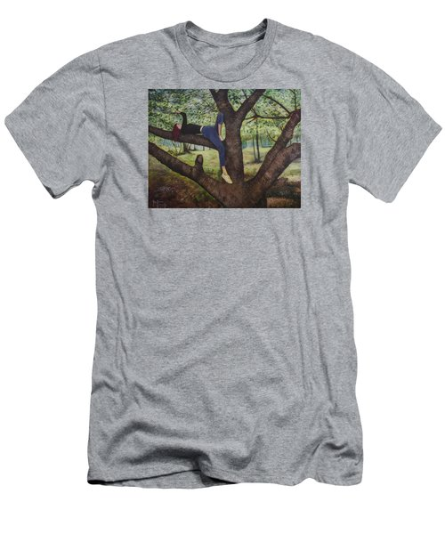 Lea Henry And The Henry Tree Men's T-Shirt (Slim Fit) by Ron Richard Baviello