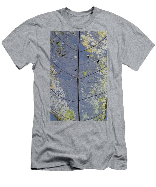 Men's T-Shirt (Athletic Fit) featuring the photograph Leaf Structure by Debbie Cundy
