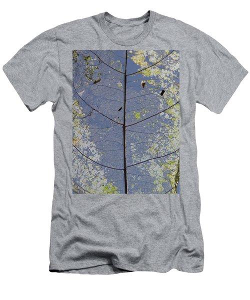 Leaf Structure Men's T-Shirt (Athletic Fit)