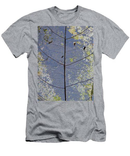 Leaf Structure Men's T-Shirt (Athletic Fit)