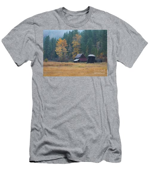 Leaning Into Winter Men's T-Shirt (Athletic Fit)