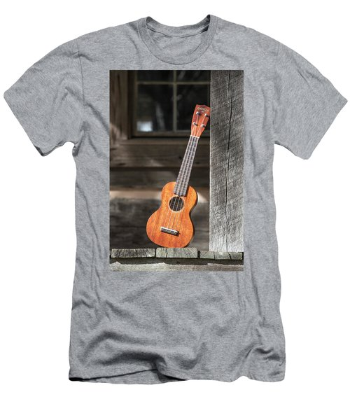 Leaning Uke Men's T-Shirt (Athletic Fit)