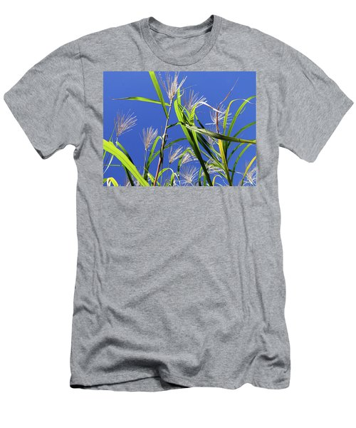 Leaves In The Wind Men's T-Shirt (Athletic Fit)