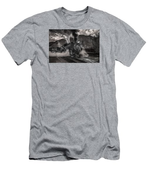 Leaving Durango For Silverton Men's T-Shirt (Slim Fit) by William Fields