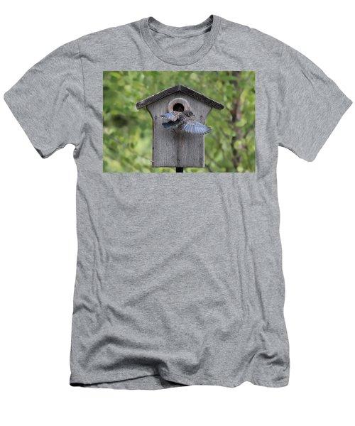 Leaving Home Men's T-Shirt (Athletic Fit)