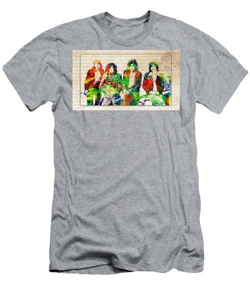 Led Zeppelin Men's T-Shirt (Athletic Fit)