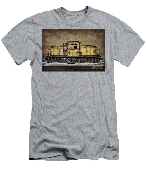 Left To Rust Men's T-Shirt (Slim Fit) by Judy Wolinsky
