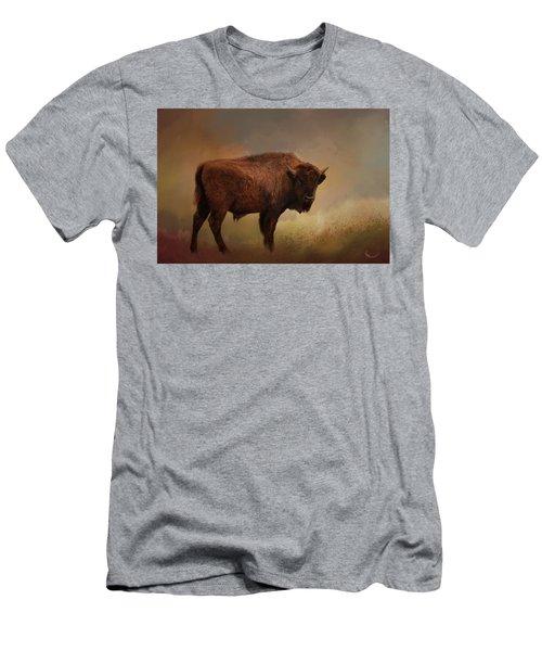 Legend Of Buffalo Spirit Men's T-Shirt (Athletic Fit)