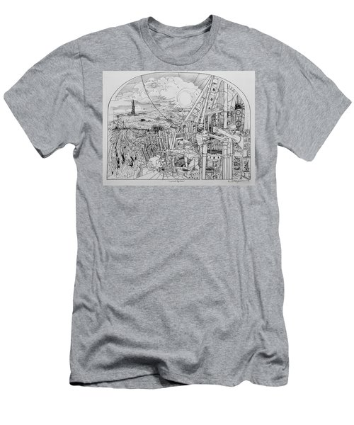 Legends Of Rig Ram Men's T-Shirt (Athletic Fit)