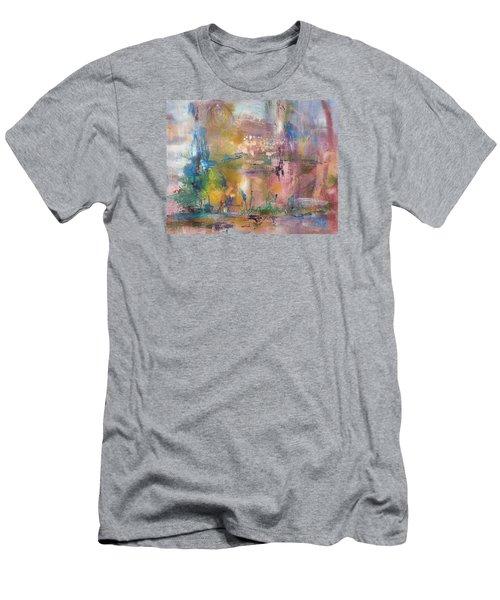 Lemonade From Lemons Men's T-Shirt (Slim Fit) by Becky Chappell
