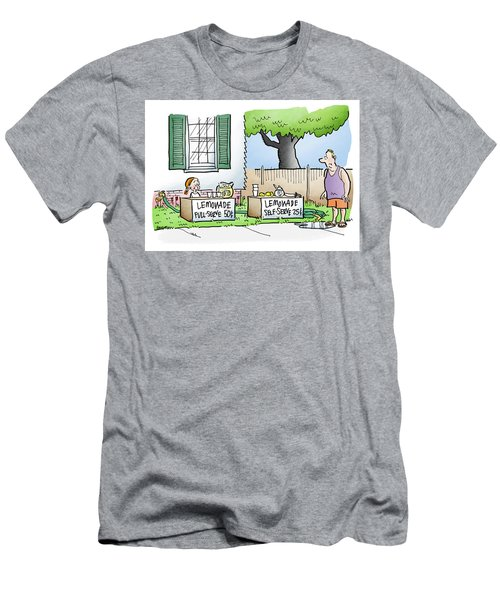Lemonade Stand Men's T-Shirt (Athletic Fit)