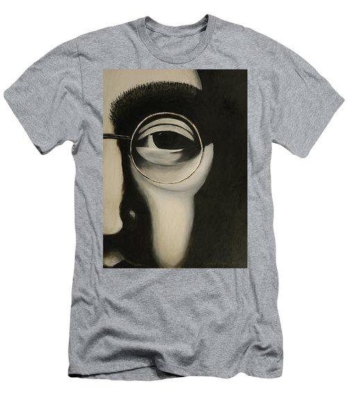 Lennon's Left Eye Men's T-Shirt (Athletic Fit)