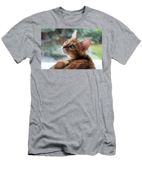 Leo The Bengal Men's T-Shirt (Athletic Fit)