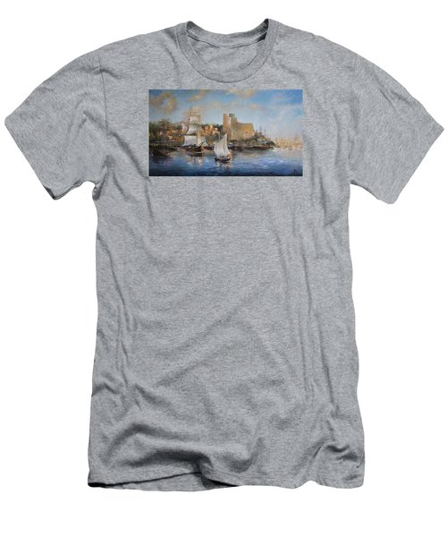 Lerici Men's T-Shirt (Slim Fit) by Vali Irina Ciobanu