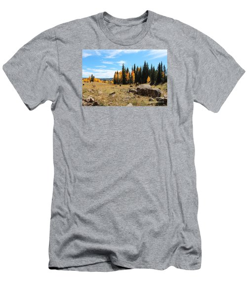 Leroux Creek Fall In Colorado Men's T-Shirt (Athletic Fit)