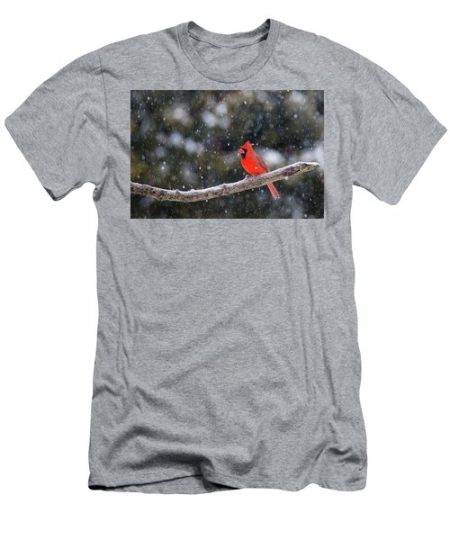 Men's T-Shirt (Slim Fit) featuring the photograph Let It Snow by Mircea Costina Photography